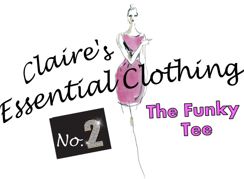 Claire's Essential Clothing 2 -The Funky Tee