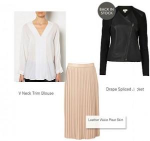 Black, White & Blush colour combo