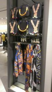 bright necklaces & scarves