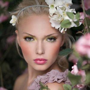 Summer Shimmer Makeup Look